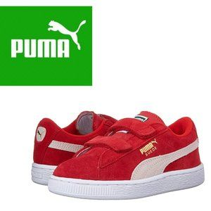 Puma Suede Two Straps - Red - 7C